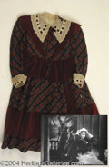 Autographs, Margaret O' Brien Dress from Jane Eyre