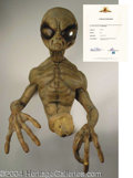Autographs, Alien Prop from TV Series Outer Limits