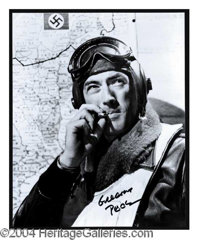 Gregory Peck Signed 8 x 10 Photo - 8 x 10 black and white glossy photograph, handsomely signed by the late great actor i...