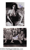 Autographs, Jane Russell Superb Signed Photo Lot