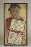 Autographs, Original 1931 Skippy Poster Gouache Artwork