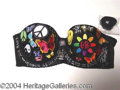 Autographs, Bra Designed by Christian Slater