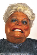 Autographs, Barbara Bush Spitting Image Puppet