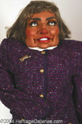 Autographs, Hillary Clinton Spitting Image Puppet