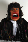 Autographs, Mick Jagger Spitting Image Puppet