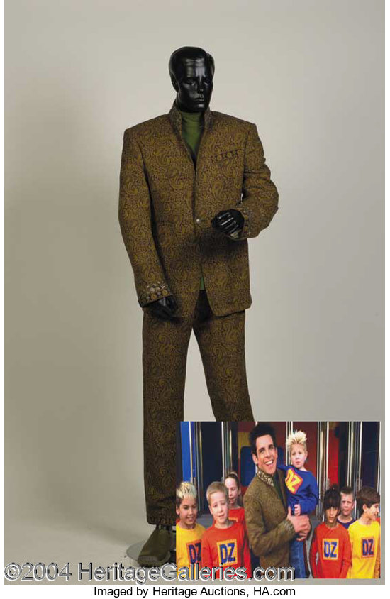 Ben Stiller Costume From Zoolander Autographs Lot 603 Heritage Auctions