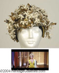 Autographs, Elizabeth Taylor Head Dress from Cleopatra