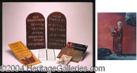 "Ten Commandments Original Film Tablets - a href=""http://www.autographs.com/auctions/details/lot613.chtml"" Lot..."