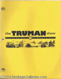 Autographs, The Truman Show prop script