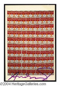 Autographs, Andy Warhol Signed Campbells Soup Can Postcard