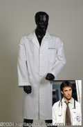 Autographs, Noah Wyle Lab Coat from ER