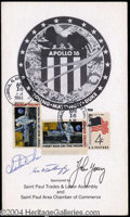 Autographs, Apollo 16 Crew Signed Program