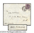 Autographs, Robert Browning Signed Envelope Cover