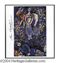 Autographs, Marc Chagall Signed Bookpage Print