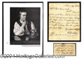 Autographs, Paul Revere Uncommon Handwritten Endorsement c. 1807