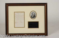 """Rutherford B. Hayes ALS Signed Letter - Handwritten letter signed """"R.B. Hayes,"""" one page, 5 x 8, June 15, 1875..."""