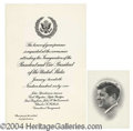 Autographs, John F. Kennedy Presidential Relic Lot