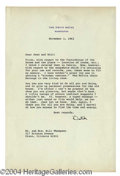Autographs, Ronald Reagan Signed Letter as President