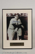Autographs, Joe DiMaggio Signed 11 x 14 Photograph