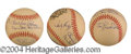 Autographs, 55 Brooklyn Dodger Greats Signed Baseball