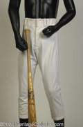 Autographs, Steve Garvey Game Used Bat & Pants from 1981