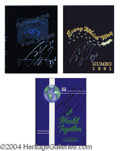 Autographs, Shaquille O' Neal Signed Yearbook Collection