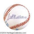 Autographs, Boston's Finest: Williams, Boggs, and Yaz Signed Baseball