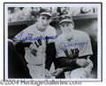 Autographs, Ted Williams & Joe DiMaggio Signed Photo PSA/DNA