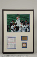 Autographs, 1998 Yankees Team Signed Display Steiner