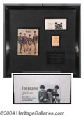 Autographs, The Beatles Vintage Ink Signatures