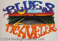 Blues Traveler Concept Art - This is concept artwork commissioned by The Grateful Dead from artist Steve Parke which was...