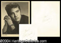 Autographs, Elvis Presley Signed Photo