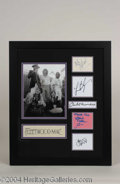 Autographs, Fleetwood Mac Band Signed Display