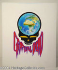 Autographs, Grateful Dead Planet Earth Concept Art