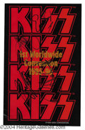 Autographs, KISS Convention Group Signed Program