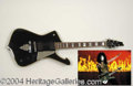 Autographs, Paul Stanley KISS Custom Ibanez Guitar