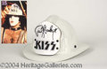 Autographs, Paul Stanley '79 Tour Fire Helmet