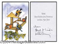Autographs, Paul McCartney Rare Signed Christmas Card