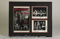 Autographs, Megadeth Signed Framed Display