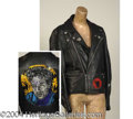 Autographs, Sinead O' Connor Rare Worn Leather Jacket
