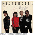 Autographs, The Pretenders Rare Signed Album