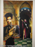 Autographs, Prince Concept Art for Chains O' Gold