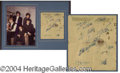 Autographs, The Rolling Stones Vintage Ink Signatures