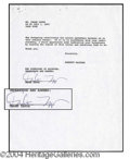 Autographs, Frank Zappa Management Contract