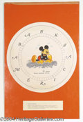 Autographs, Mickey Mouse Bank Watch Design by Chet Marshall