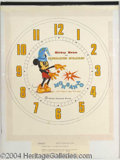 Autographs, Mickey Mouse Sorcerer Watch Design by Chet Marshall