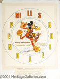 Autographs, Mickey Mouse and Tanglefoot Watch Design by Chet Marshall