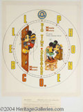 Autographs, Mickey and Minnie Mouse Watch Design by Chet Marshall