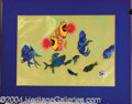 Autographs, Bedknobs and Broomsticks Animation Cels Disney