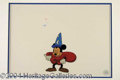 Autographs, Mickey Mouse the Sorcers Apprentice Animation Cel